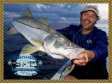 Patrick with a nice snook.